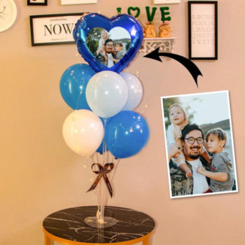 Pictures Balloons Set Balloons with Pictures on Them