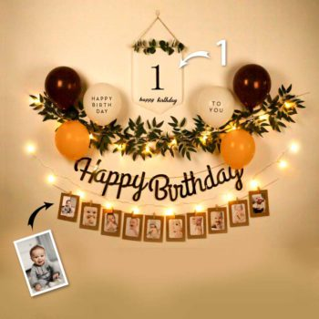 Happy Birthday Decoration at Home Happy Birthday Balloon Decoration