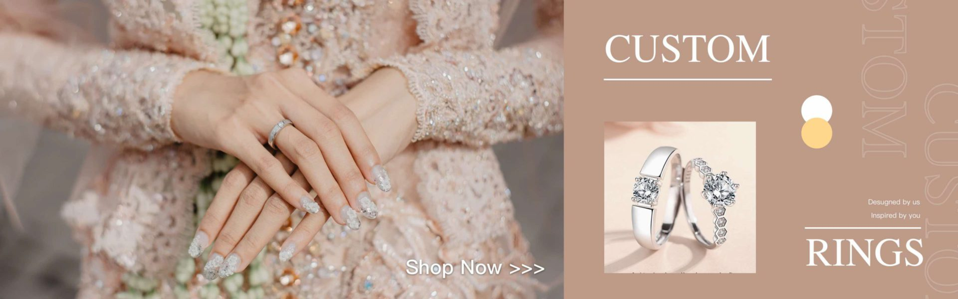 KoalaPrint custom cpuple rings-Shop Now