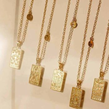 Astrology Pendant Gold Filled Zodiac Sign Celestial Necklace