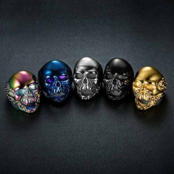 Skeleton Hand Ring Zombie Ring Skull Dark Jewelry