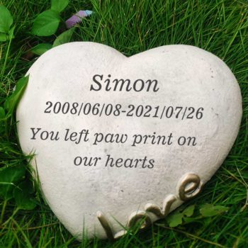 Personalized Memorial Garden Stones Headstone Engraving Designs