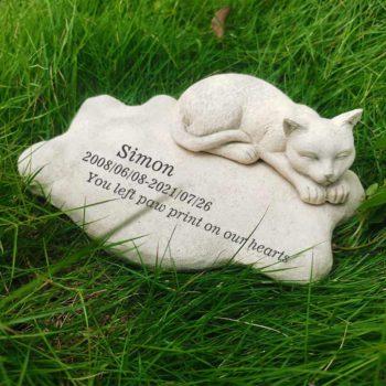 Personalized Cat Memorial Stone Personalised Pet Headstones
