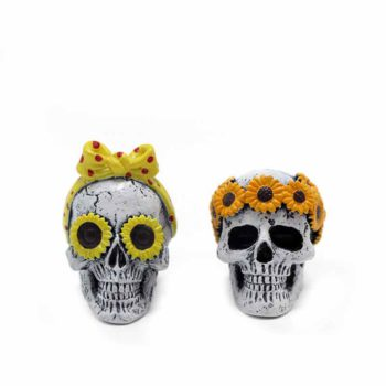 Car Scents Two Skulls Air Vent Clips Aromatherapy Set