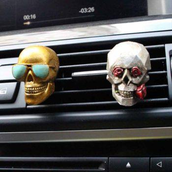 Car Air Vents Skull Aromatherapy Set Car Interior Supply