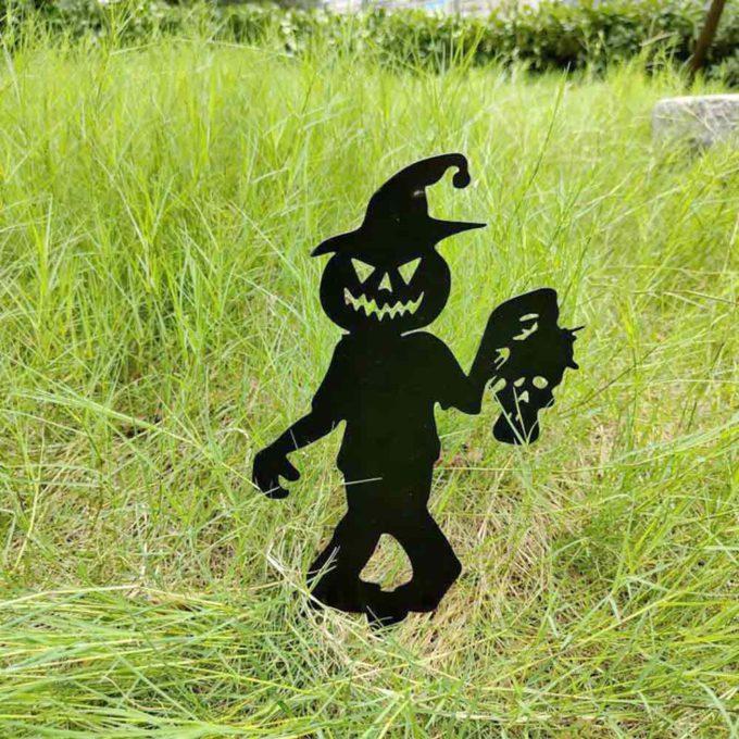 Halloween Yard Stakes Little Zombie Halloween Lawn Decor