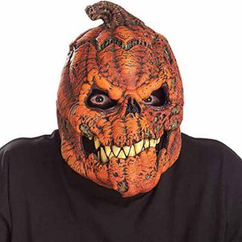 Pumpkin Mask Halloween Horror Latex Pumpkin Dress Up