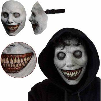 Devil Cosplay Creepy Smiling Biochemical Zombie Masks