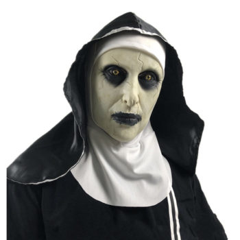 Horror Headscarf The Nun Gothic Mask Scary Party Props
