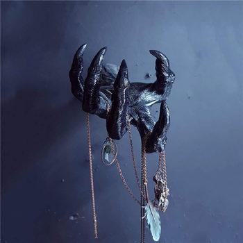 Demon Hand Decor Eye In Devil's Hand Wall Hanging Statue