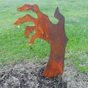 Zombie Hand Horror Rusty Walking Dead Halloween Decor