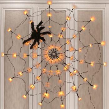 Spider Web Decoration Giant LED Halloween String Light