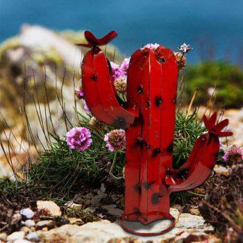 Cactus Ornament Outdoor Saguaro Cactus Plant Sculpture