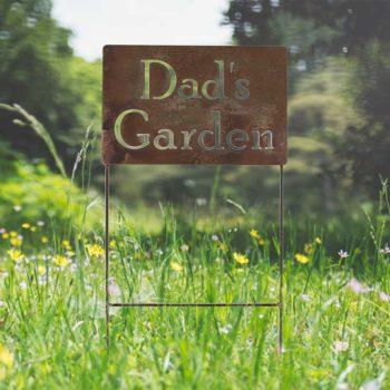 Personalized Garden Signs Custom Metal Sign Outdoor