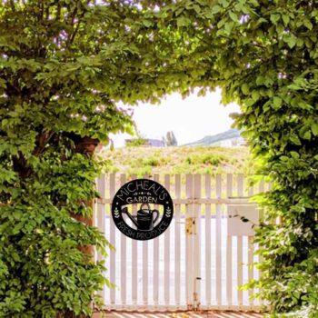 Metal Yard Signs Custom Garden Lawn Address Sign
