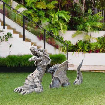 Dragon Garden Ornaments Lawn Dragon Landscaping Statue