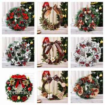 Christmas Wreath Door Hanging Luxury Christmas Garland