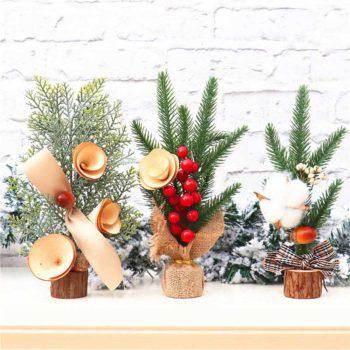 Desktop Christmas Tree Mini Christmas Simulation Tree