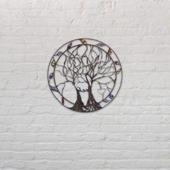 Tree of Life Wall Art Metal Family Tree Wall Hanging