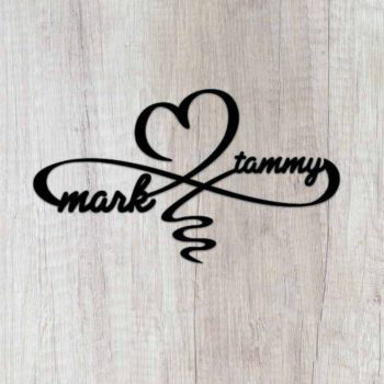 Infinity Heart Sign Custom Infinity Symbol With Heart